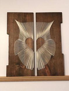 Custom Owl String Art String Art, Owl, Home Appliances, House Appliances, Owls, Appliances