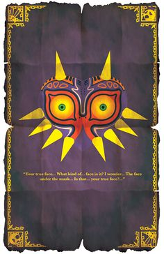 The Legend Of Zelda - Majora's Mask Poster sold by G-Bit Shop. Shop more products from G-Bit Shop on Storenvy, the home of independent small businesses all over the world. The Legend Of Zelda, Legend Of Zelda Quotes, Legend Of Zelda Poster, Video Game Art, Video Games, Poster Series, Twilight Princess, Nerdy, Images