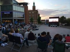 What's On at The Forum 5th to 13th July 2014. Open-Air Screen - Men's Wimbledon Final, Norfolk Watercolour Circle Art Exhibition, Friends of NNUH Art Exhibition, Open Air Screen - Grease Film Night,