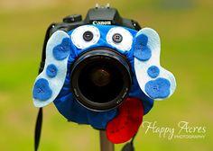 Lens Bling  Blue Puppy  Ready to Ship by HappyAcresFarm on Etsy, $19.00