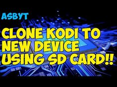 Clone, backup and restore all settings on SD card Kodi Streaming, Kodi Live Tv, Kodi Android, Cable Companies, Sd Card, Read More, Online Business, Restoration, Restore