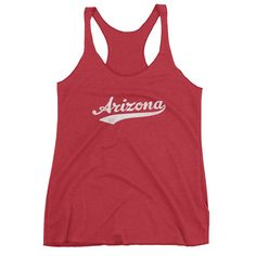 Vintage Arizona AZ Women's Racerback Tank Top
