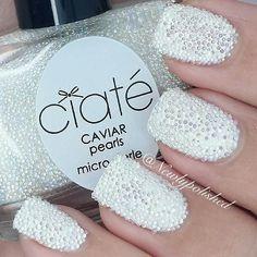 Ciaté Caviar Mani oh my gosh . What a great idea !
