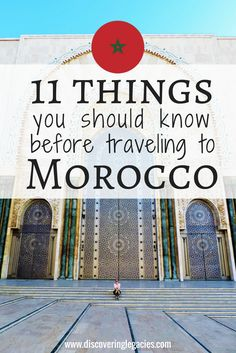 Morocco is a historically rich country where tradition clashes with modernity, so you should know a few things before you visit. Click to learn about money, gyms, food, Internet, alcohol, transportation, and more.
