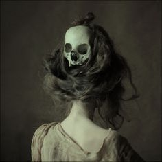 Skull hair decoration
