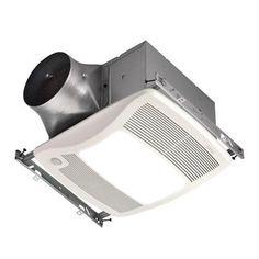 Nutone ZN110ML Ultra Motion Sensing 110 CFM Multi-Speed Ventilation Fan with Light