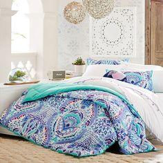 >> Good Kaleidoscope Comforter + Sham