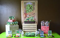 Printable Parties to Go : Vintage Minecraft-Inspired Party
