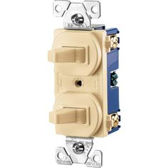 Smooth Switching Action Narrow Body Leaves More Room For Wires - 3 Way Light Switch Home Depot