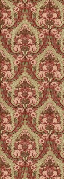 Windsor Floral - Historic Wallpapers - Victorian Arts - Victorial Crafts - Aesthetic Movement