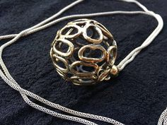 • Handmade item • Polished Bronze Necklace • Silver-Plated Necklace • Lead & Nickel free • Hypoallergenic This gorgeous necklace is from our Bronze Collection. Perfect combination of bronze sphere with a silver-plated base. You will definitely feel different and be different. Enjoy to be