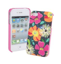 Snap On Case for iPhone 4/4S | Vera Bradley I love this print so much! I want the bag in this print!