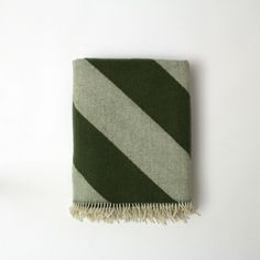 Mina Blanket - Alpine Green