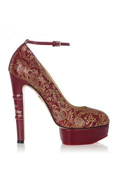 Fairy Tale Footwear - The Charlotte Olympia Fall 2013 Collection is for Childlike Romantics (GALLERY)