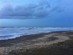 Wandelen naar Kijkduin in de storm op 10 januari 2015