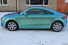 Blue-Green Chameleon Audi TT