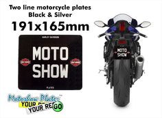 http://www.motoshowplates.com/platebuilder?size=black-and-silver-191x165mm