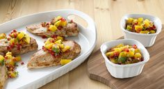 Mango Jalapeno Salsa recipe - Fruit salsa adds color and zest to grilled chicken, pork and fish. Or serve it with a basket of tortilla chips for an effortless summertime snack.
