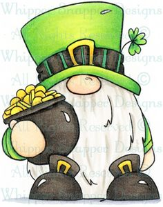 Lepregnome - Spring/Summer 2019 - Rubber Stamps - Chalk Art İdeas in 2019 St Patricks Day Pictures, Saint Patricks Day Art, St Patrick's Day Decorations, Art Calendar, St Pats, St Paddys Day, Rock Crafts, Chalkboard Art, Chalk Art