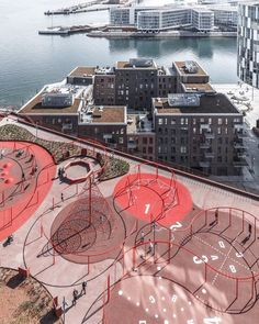 """28.8k Likes, 110 Comments - ArchDaily  (@archdaily) on Instagram: """"Park 'n' Play  @jaja_architects #Denmark #parking #parkinggarage #rooftop #playground #fun #play…"""""""