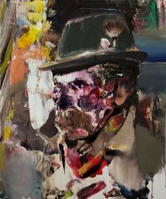 painting by adrian ghenie