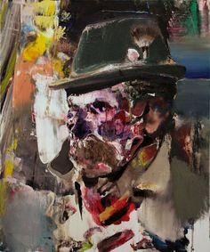 painting by adrian ghenie