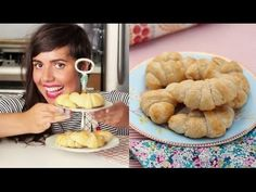 Receita abaixo. Para fotos cheque: http://delightdulce.blogspot.com/2011/08/coissants.html Os verdadeiros Croissants sao crocantes e cheios de camadas. A mai...