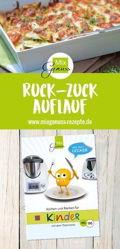 Ruck-Zuck-Auflauf – MixGenuss Blog