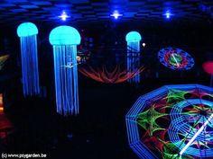 psytrance decor jellyfish