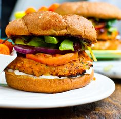 Sweet Potato Veggie Burgers with Peanuts
