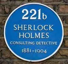 221b Baker Street. Legendary Londoner - Sherlock Holmes.