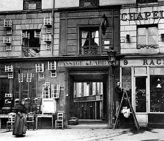 Hat & chair store - Paris 1896