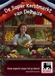 Delhaize Christmas campaign