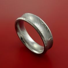 Official Website King Will Warriors 8mm Mens Damascus Steel Wedding Ring Exquisite Craftsmanship; Other Wedding Jewelry Jewelry & Watches