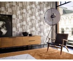 Add a little Nordic style to your interior with this beautiful Puzzle Wallpaper, part of the Arctic Fever collection by Today Interiors. This brand-new wallpaper collection is inspired by Scandinavia, bringing the outside in to adorn your walls.