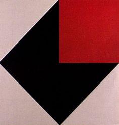 Composição 1983 | Geraldo de Barros montagem em laminado plástico 90.00 x 90.00 cm