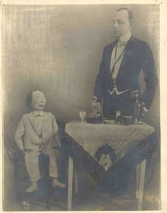 Incredibly Disconcerting Vintage Portraits of Ventriloquists and their Dummies | Flavorwire | Page 5