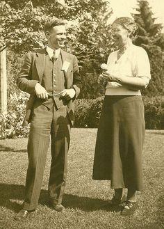 My grandfather Duke Dane and great grandmother Annie Edmands