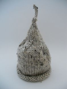Baby Knit Hat Photo Prop Newborn Infant Pixie by deusprovidebit, $24.50