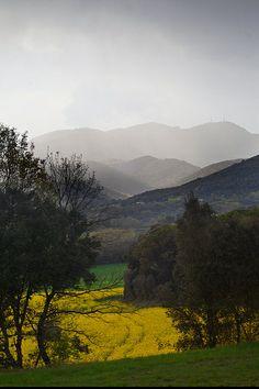 Rocacorba,  Girona, Catalunya.
