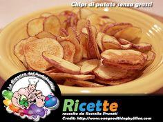 Chips di patate senza grassi