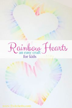 How to make a beautiful soft pastels heart art with your kids - Twitchetts Soft Pastel Rainbow Heart Craft. This makes a great Valentines day craft. Valentine's Day Crafts For Kids, Valentine Crafts For Kids, Valentine Day Crafts, Toddler Crafts, Holiday Crafts, Valentine Ideas, Printable Valentine, Homemade Valentines, Valentine Wreath