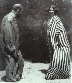 Gustav Klimt and Emilie Flöge.