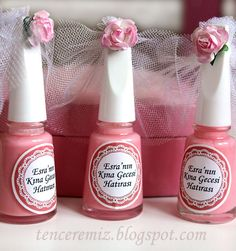 bridal shower gifts or any girly party