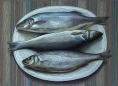 """Sketch flash mob 2017: Результаты по теме """"Рыба и морепродукты"""", Nr. 159 - {иллюстрация, дизайн и другие ...котики}"""