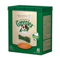 Greenies Tub-Pak Treat for Dogs, 27-Ounce, Petite --- http://www.amazon.com/Greenies-Tub-Pak-Treat-27-Ounce-Petite/dp/B000KBFKIQ/?tag=affpicntip-20