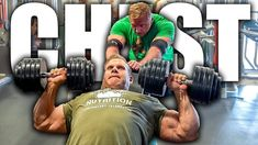 High volume chest workout with Mr. Olympia Jay Cutler High volume chest workout with Mr. Chest Workout Routine, Chest Workouts, Gym Workouts, Workout Routines, 212 Man, Joe Weider, Pro Bodybuilders, Jay Cutler, National Championship