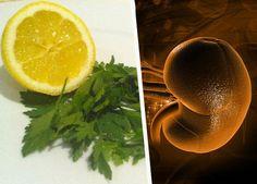 A salsa é o limão combinados se tornam um maravilhoso remédio para depurar seus rins...