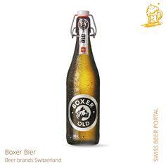 Swiss Beer Brands Boxer, Beer Brands, Hot Sauce Bottles, Beer Bottle, Portal, Drinks, Drinking, Beverages, Beer Bottles