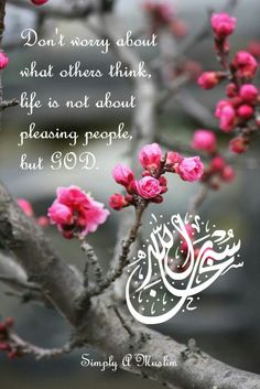 Life isn't about pleasing people...